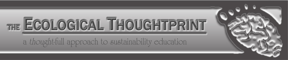 The Ecological Thoughtprint